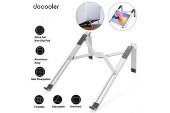Docooler Laptop Stand Three Levels Adjustable Laptop Riser NoteBooks Stand