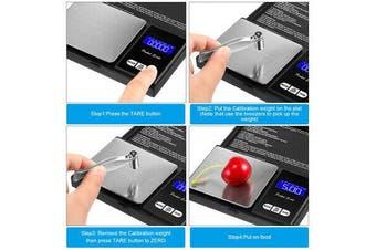AU 500g 0.01 DIGITAL POCKET SCALES JEWELLERY ELECTRONIC milligram micro mg