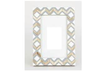 Boho Bone Inlay Frame