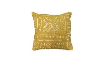 Mudcloth Cushion in Gold - Covers Only