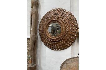 Peacock Mirror - Round