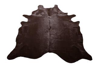 Chocolate Cow Hide Rug
