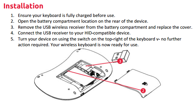my android deluxe wireless keyboard trackpad doesn 39 t work help centre. Black Bedroom Furniture Sets. Home Design Ideas